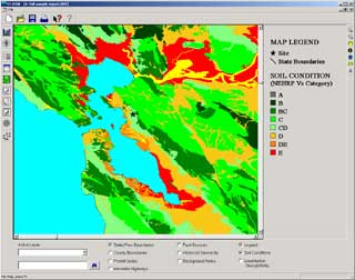 Soil Condition Map